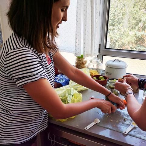 לבשל בריא יחדסדנת ילדים מבשלים