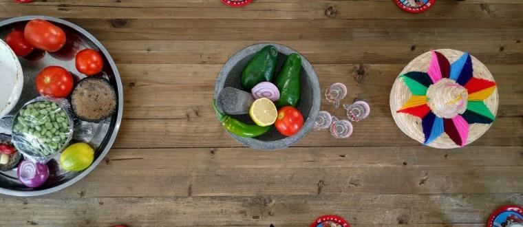 סדנת בישול מקסיקנית וצבעונית