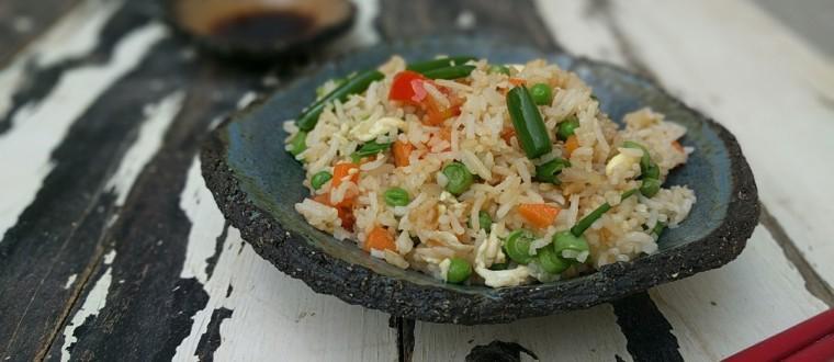 אורז תאילנדי וירקות