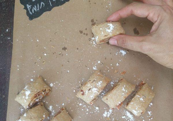 עוגיות בצק חומץ זריזות