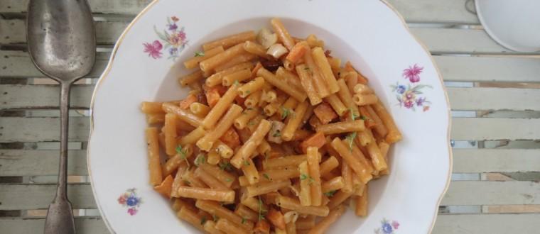 פסטה כתומה + ירקות כתומים = יום כתום